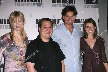 Lisa Brescia, Jared Gertner, Hunter Foster, Kate Wetherhead