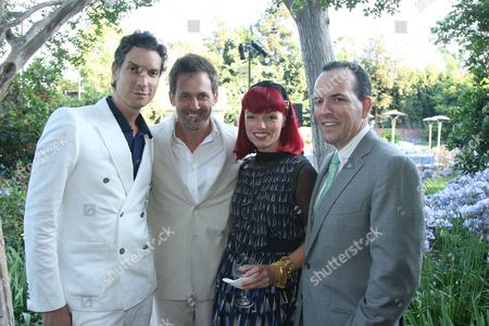 Stock Image of Cameron Silver and Jeff Snyder with Liza Mae and Mark Carlin