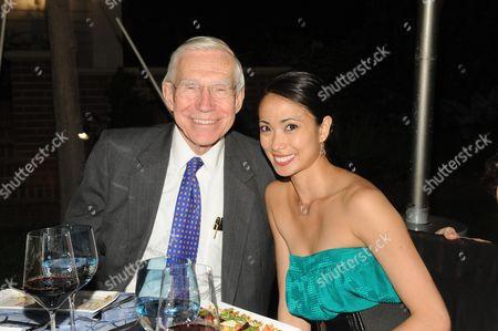 The Hon. Frank Baxter and Stella Abrera