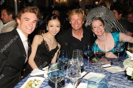 Jared Matthews, Yuriko Kajiya, Nigel Lythgoe and Rachel Moore