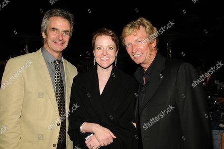 Kevin McKenzie, Rachel Moore and Nigel Lythgoe