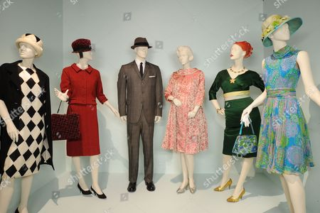 'Mad Men' - (L to R)  Costumes worn by Actors: Peyton List as Jane Sterling,