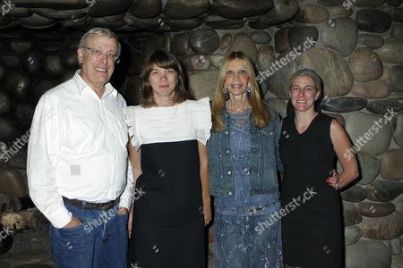 Stock Photo of Marc Nathanson, Marlo Pascual, Jane Nathanson and Heidi Zuckerman Jacobson