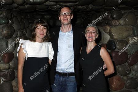 Marlo Pascual, Sergej Jensen and Heidi Zuckerman Jacobson