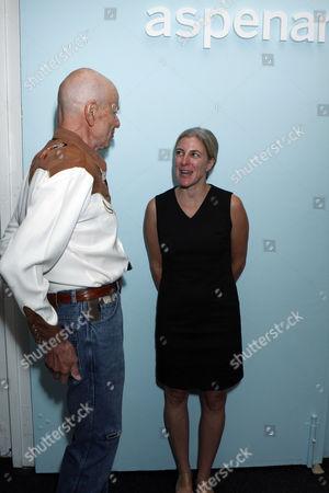 Robert Magoon and Heidi Zuckerman Jacobson at the Aspen Art Museum