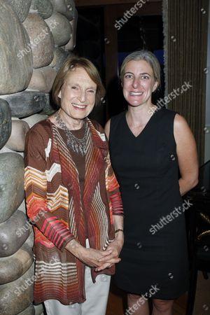 Mary Anne Lubar and Heidi Zuckerman Jacobson