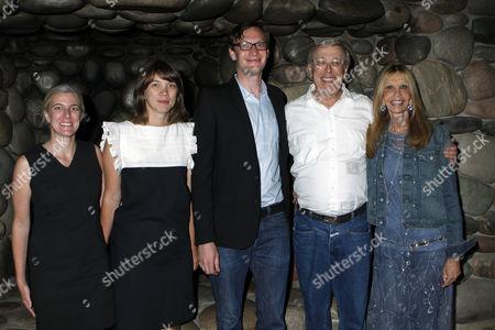 Heidi Zuckerman Jacobson, Marlo Pascual, Sergej Jensen and Marc Nathanson
