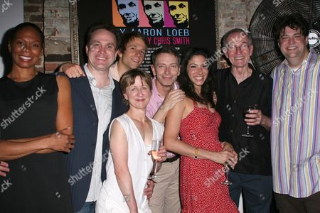 Stock Image of Stephanie Pope Caffey, Ted Koch, Ben Roberts, Pippa Pearthree, Arnie Burton, Lisa Birnbaum, Robert Hogan and Aaron Loeb