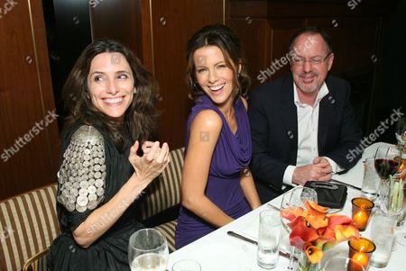 Elizabeth Stewart, Kate Beckinsale and Rob Bragin