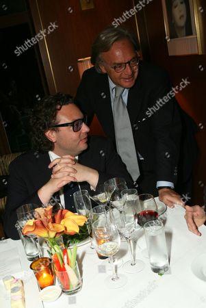 Stock Photo of Emanuele Della Valle and Diego Della Valle