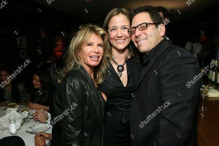 Joyce Ostin, Elizabeth Wiatt and Darren Star