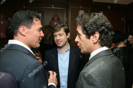 Andre Balazs, Nicolas Berggruen and Peter Morton