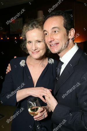 Stock Photo of Anne Crawford and Claudio Castiglioni