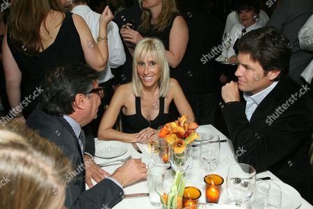 Stock Image of Bob Colacello, Alexandra Von Furstenberg and Dax Miller
