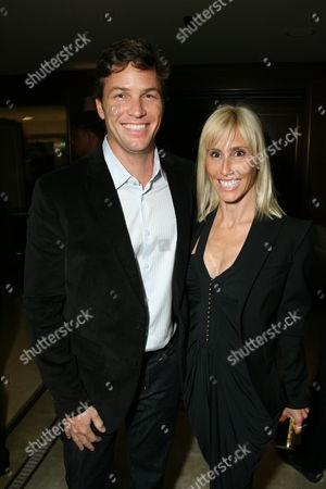 Stock Photo of Dax Miller and Alexandra Von Furstenberg