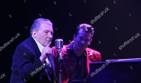 Jerry Lee Lewis and Levi Kreis