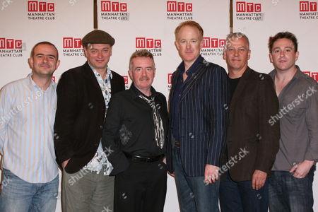 Christopher Connel, Michael Hodgson, Ian Kelly, David Whitaker, Deka Walmsley, Brian Lonsdale