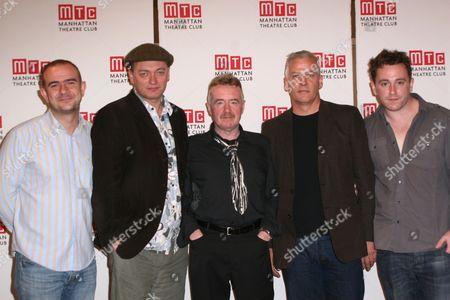 Christopher Connel, Michael Hodgson, David Whitaker, Deka Walmsley, Brian Lonsdale