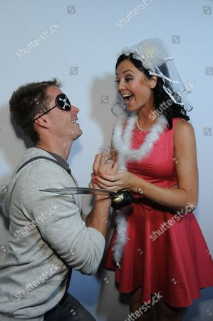 Michael Stagliano and Holly Durst