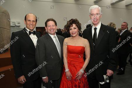 Michael Milken, Bobby Kotick, Lynda Resnick and Gray Davis
