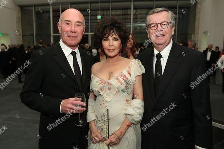David Geffen, Carole Bayer Sager and Bob Daly