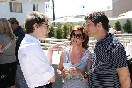 Stock Image of Honor Fraser, Dorothy Berwin and Mark Fletcher