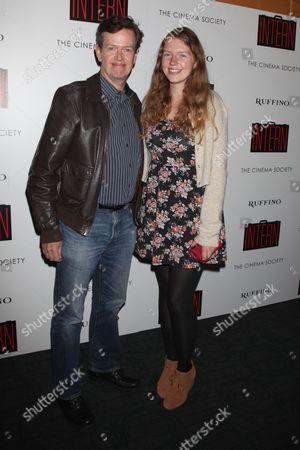 Dylan Baker and Willa Baker