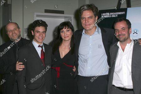 Stock Picture of Dexter Bullard, Sam Deutsch, Mierka Girten, Michael Shannon and Craig Wright