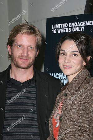 Stock Photo of Paul Sparks and Annie Parisee