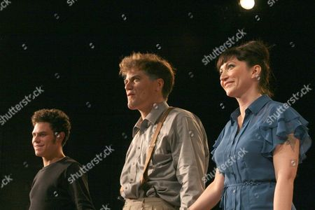 Stock Image of Sam Deutsch, Michael Shannon and Mierka Girten