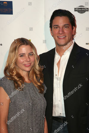Stock Photo of Kerry Butler and Nicholas Rodriguez