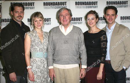 David Furr, Charlotte Parry, Brian Bedford, Sara Topham, Santino Fontana