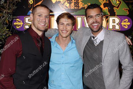 Chase Rice, Judson 'Fabio' Birza and Matthew Lenahan