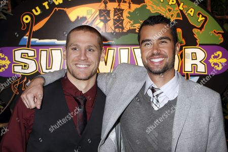 Stock Picture of Chase Rice and Matthew Lenahan