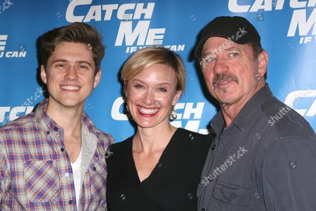 Editorial photo of 'Catch Me If You Can' Cast Introduction at New 42nd Street Rehearsal Studios, New York, America - 24 Jan 2011