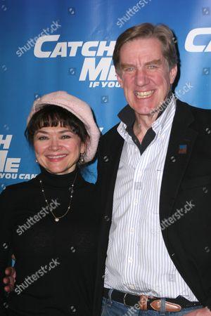Linda Hart and Nick Wyman