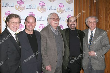 Stock Picture of Maury Yeston, Stephen Cole, Thomas Meehan, David Krane and Sheldon Harnick