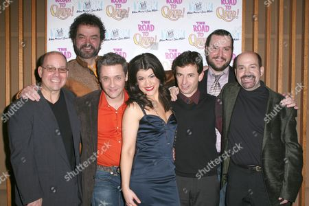 Stock Picture of Stephen Cole, Bill Nolte, James Beaman, Sarah Stiles, Keith Gerchak, Bruce Warren and David Krane