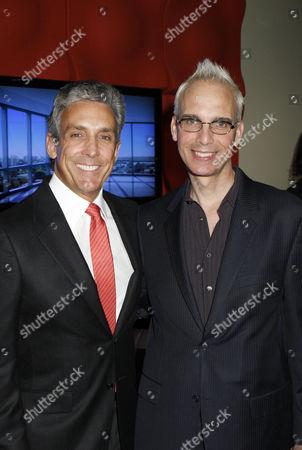 Charles S Cohen, West Hollywood Mayor John Heilman