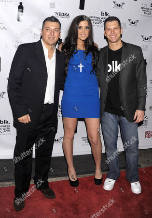 Chris Manzo, Ashley Holmes and Albie Manzo