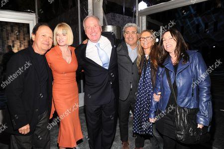 Billy Crystal, Ellen Barkin, Jerry Weintraub, Terry Semel and Jane Semel