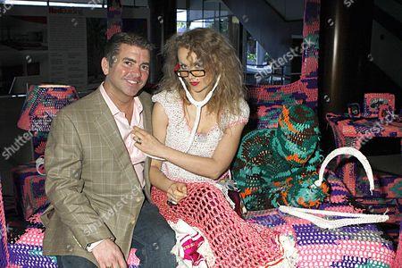 Mark Boone, President of Mimi London and Olek