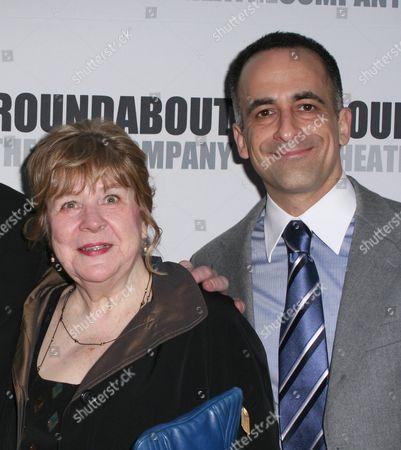 Marylouise Burke and David Pittu