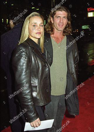 Stock Picture of Kristen Barlow and Joe Lando