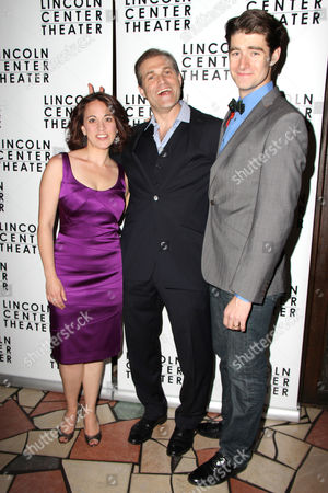 Liz Baltes, Marc Kudisch and Drew Gehling