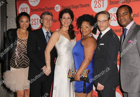 Stock Image of Karen Olivo, David Garrison, Stephanie J Block, Kimberly Hebert Gregory, Kevin Isola, Daniel Breaker