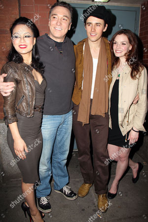 T V Carpio, Patrick Page, Reeve Carney and Jennifer Damiano