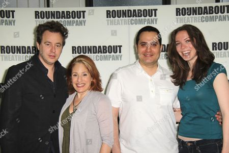Editorial picture of 'Death Takes A Holiday' Musical Cast Introduction, New York, America - 12 May 2011