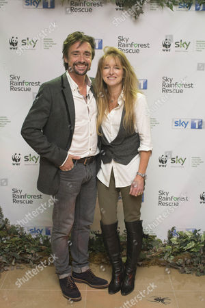 Richard Hammond and wife Amanda Etheridge