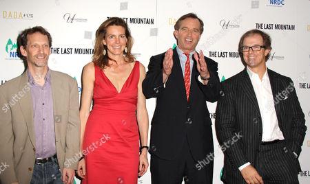 Eric Grunebaum, Clara Bingham, Robert F Kennedy Jr and Bill Haney